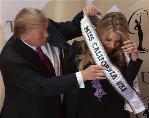 Stripped of her title as Miss California