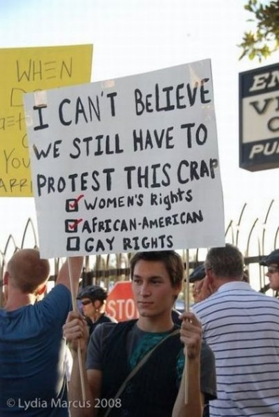 Protest for Gay Marriage
